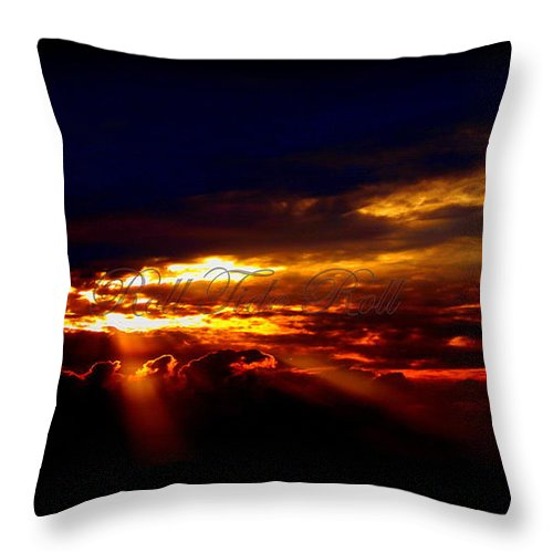 Alabama Throw Pillow featuring the photograph Small Roll Tide In The Distance by Travis Truelove