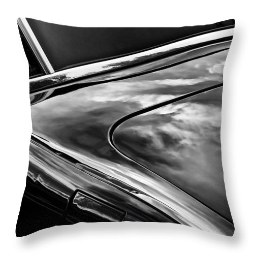 Car Throw Pillow featuring the photograph Smooth by John Hansen