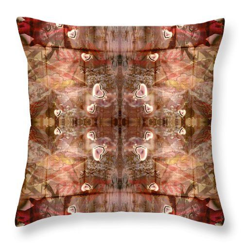 Love Throw Pillow featuring the photograph Smother Love by Deprise Brescia