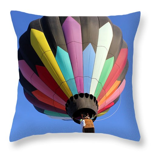 Soaring Throw Pillow featuring the photograph Soaring Diamonds 2 by Alycia Christine