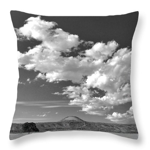 Photography Throw Pillow featuring the photograph Solitude I by Sean Griffin