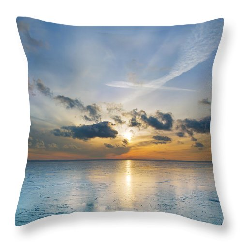 Nature Throw Pillow featuring the photograph Some Other Morning by Kevin Eatinger