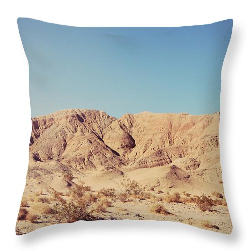 Anza Borrego State Park Throw Pillow featuring the photograph Sometimes I See So Clearly by Laurie Search