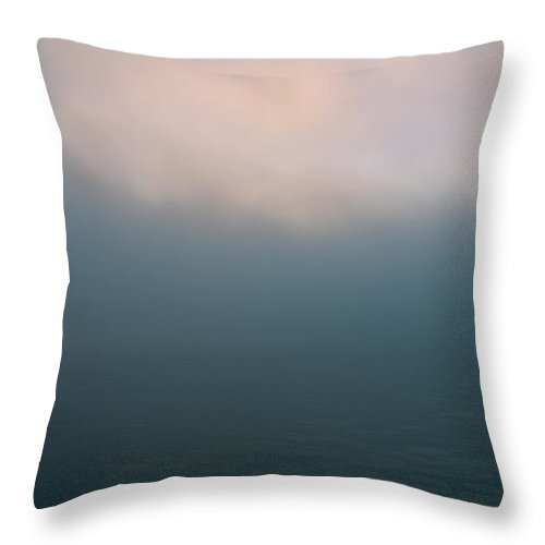 Nature Throw Pillow featuring the photograph Somewhere Beyond Here by Kevin Eatinger