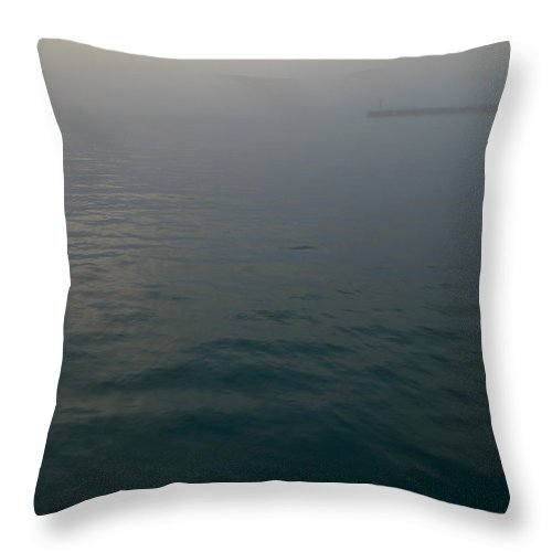 Morning Throw Pillow featuring the photograph Somewhere Else by Kevin Eatinger