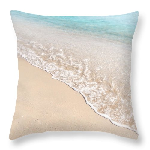 Soothing Throw Pillow featuring the photograph Soothing by Julie Palencia
