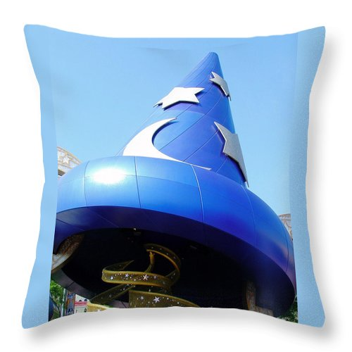 Hollywood Studios Throw Pillow featuring the photograph Sorcery by David Nicholls