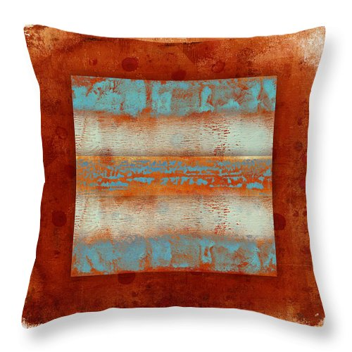 Southwest Throw Pillow featuring the photograph Southwest Sunset 2 by Carol Leigh