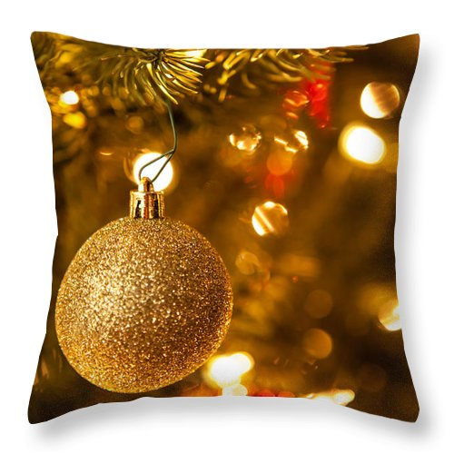 2012 Throw Pillow featuring the photograph Sparkles by Melinda Ledsome