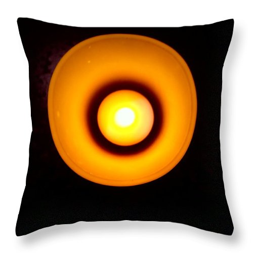 Light Throw Pillow featuring the photograph Spectre by Mike Norkin