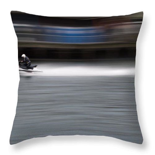 Digital Print Throw Pillow featuring the photograph Speed by Tony Mills