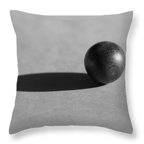 Ellipse Throw Pillow featuring the photograph Sphere by Kenny Glotfelty