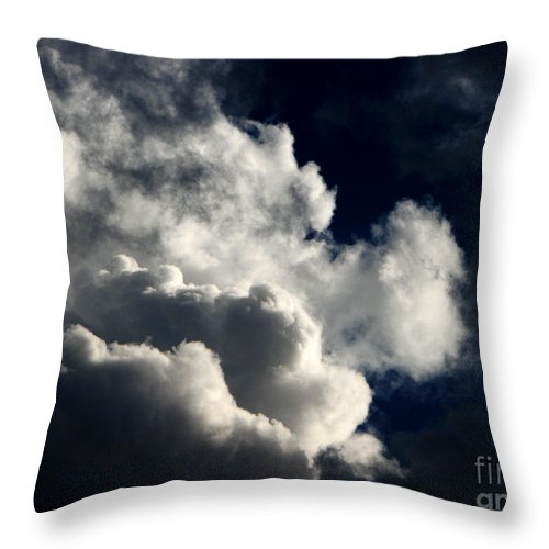 Art For The Wall...patzer Photography Throw Pillow featuring the photograph Spiritual by Greg Patzer