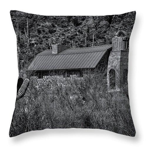 Arizona Throw Pillow featuring the photograph Spiritual Oasis 28 by Mark Myhaver
