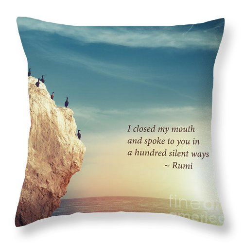 Inspirational Throw Pillow featuring the photograph Spoke To You by Stella Levi