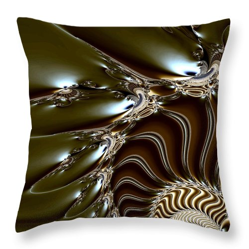 Fine Art Throw Pillow featuring the photograph Spore by Kevin Trow