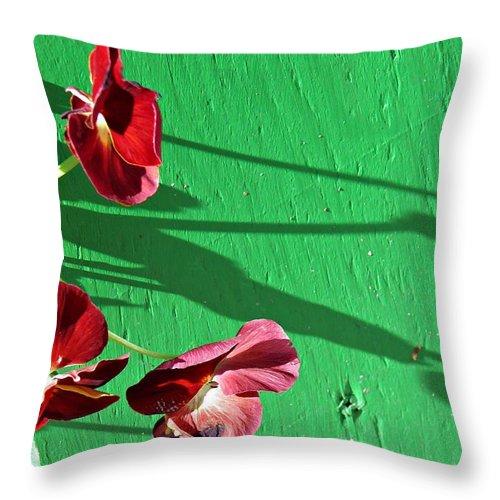Flowers Throw Pillow featuring the photograph Spring Haiku 2 by Sarah Loft