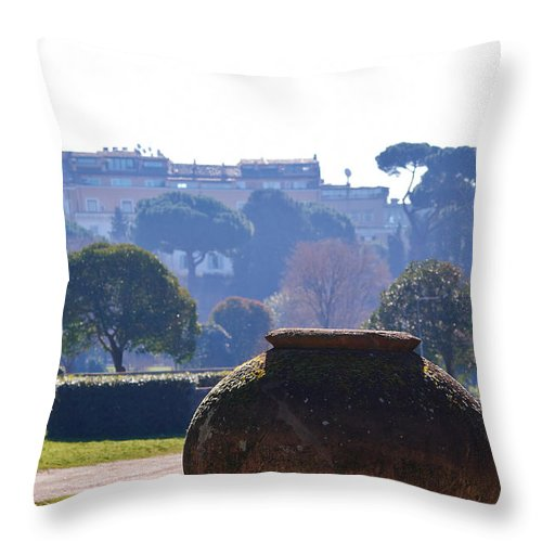 Lehto Throw Pillow featuring the photograph Springtime by Jouko Lehto