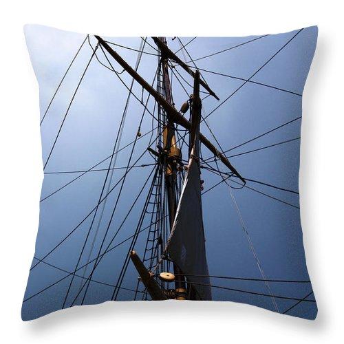 Tall Throw Pillow featuring the photograph Spun by Joe Geraci