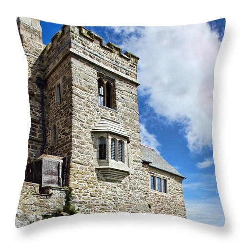 St Michaels Mount Throw Pillow featuring the photograph St Michael's Mount 2 by Susie Peek