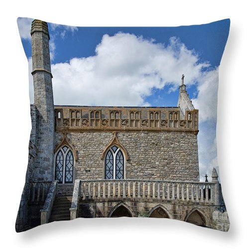 St Michaels Mount Throw Pillow featuring the photograph St Michael's Mount 3 by Susie Peek