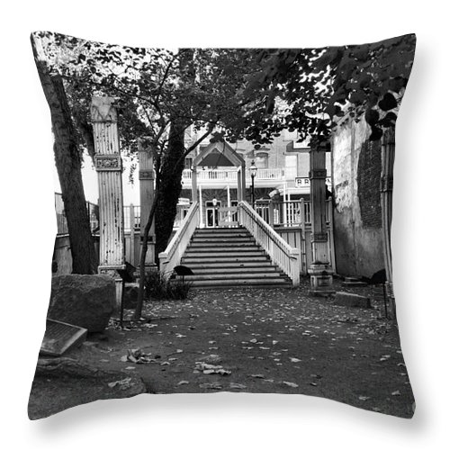 Stair Case Throw Pillow featuring the photograph Stair Case by Patricia Betts