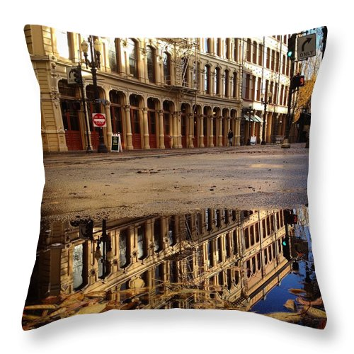 Throw Pillow featuring the photograph Standing Tall by Noel Carey