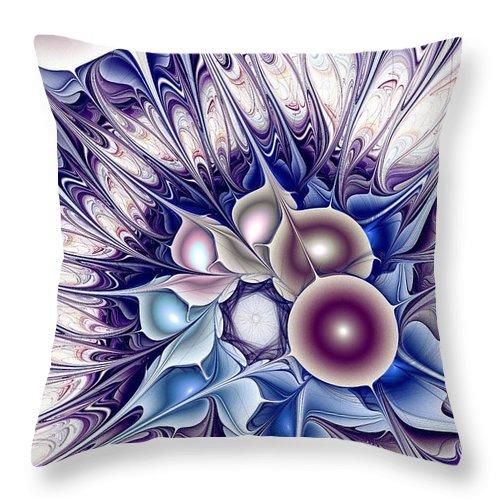 Malakhova Throw Pillow featuring the digital art Standout by Anastasiya Malakhova
