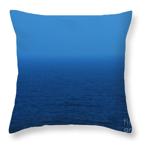 Blue Throw Pillow featuring the photograph Stepping Into A Dream by Amanda Barcon