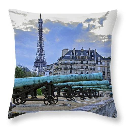 Travel Throw Pillow featuring the photograph Still Protectting by Elvis Vaughn