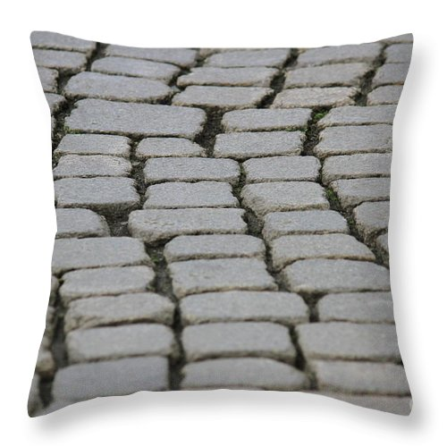 Streets Throw Pillow featuring the photograph Streets by Four Hands Art