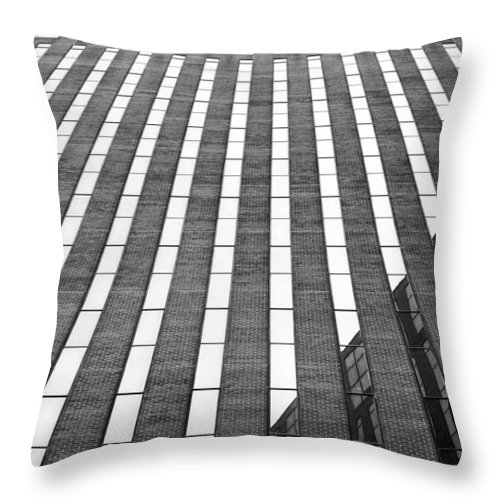Stripes Throw Pillow featuring the photograph Stripes by Nikolyn McDonald