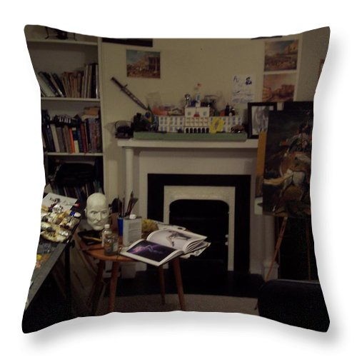 Throw Pillow featuring the photograph Savannah 9studio by Jude Darrien