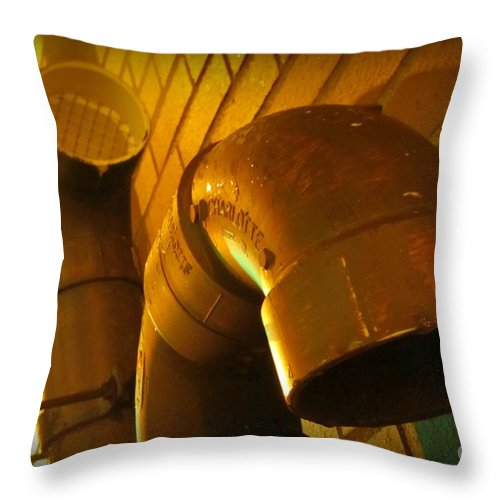 Submission Art Throw Pillow featuring the photograph Submission by John Malone Halifax Photographer