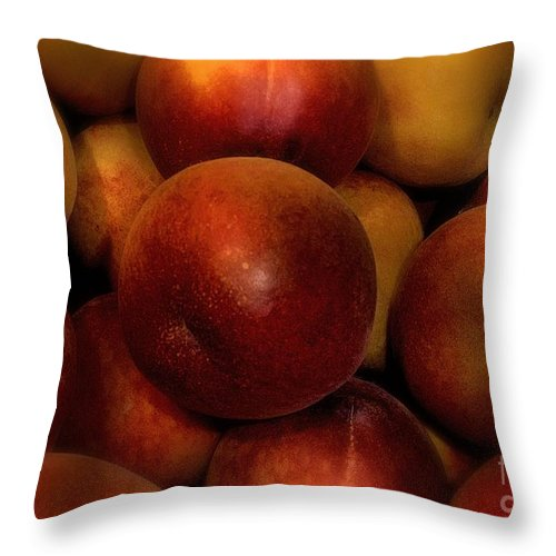 Fruit Throw Pillow featuring the photograph Succulent Sunshine by RC DeWinter