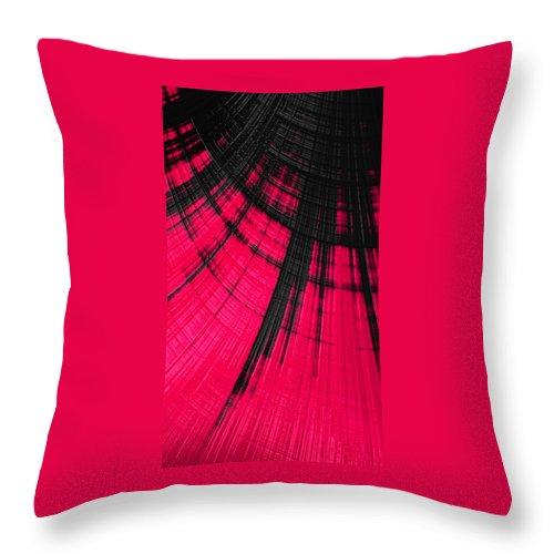 women's Fashion girl's Fashion fashion Design Fashion Design abstract Art Abstract Throw Pillow featuring the photograph Sudden Passion 03 by Bill Owen
