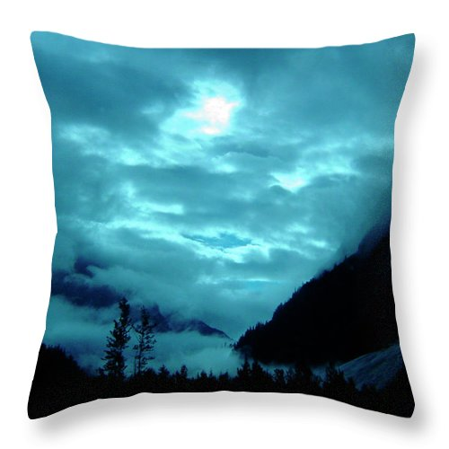 Clouds Throw Pillow featuring the photograph Sunday Morning by Jeremy Rhoades