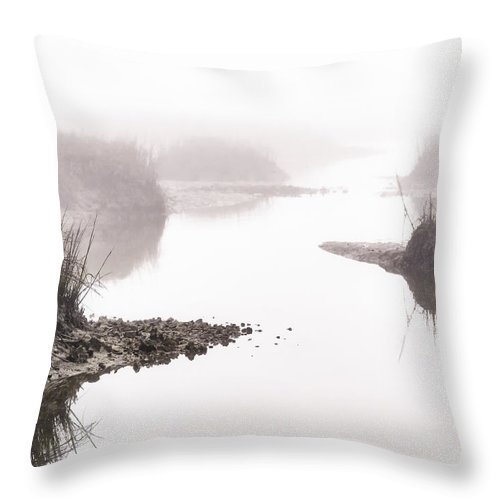 Nature Throw Pillow featuring the photograph Sunrise Sunset Art Photo - The Way Out By Jo Ann Tomaselli by Jo Ann Tomaselli
