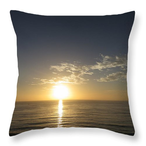 Sunset Throw Pillow featuring the photograph Sunset 489 by Elle Nicolai