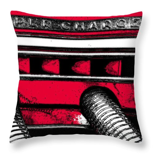 Duesenberg Throw Pillow featuring the photograph Super-charged Duesenberg by Alexey Stiop