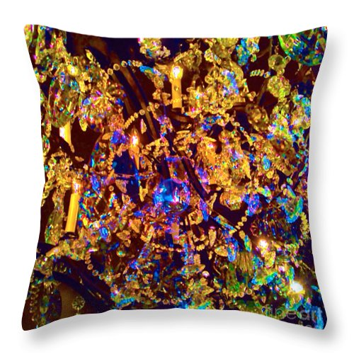 Crystal Throw Pillow featuring the digital art Suzanne 3 by Leanne Stock