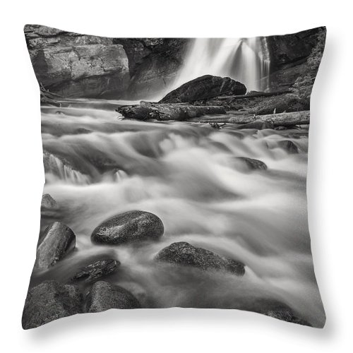 Acrylic Throw Pillow featuring the photograph Swept Away by Jon Glaser