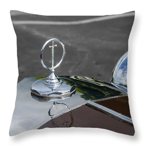 1984 Excalibur Throw Pillow featuring the photograph Sword by Guy Whiteley