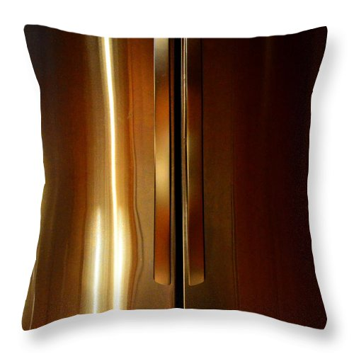 Newel Hunter Throw Pillow featuring the photograph Symmetry 2 by Newel Hunter