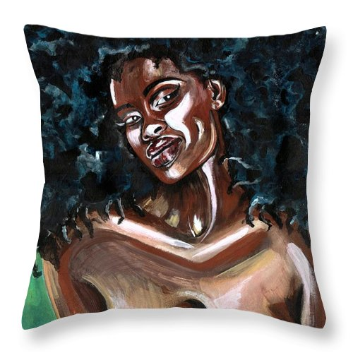 Sexy Throw Pillow featuring the photograph Take Me As I Am -or Have Nothing At All by Artist RiA