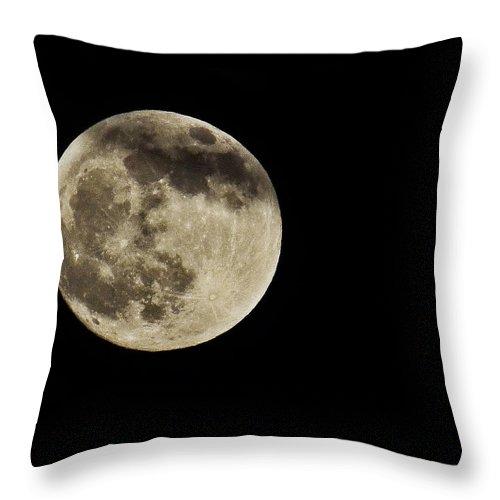 Moon Throw Pillow featuring the photograph Take Me To The Moon by Saija Lehtonen