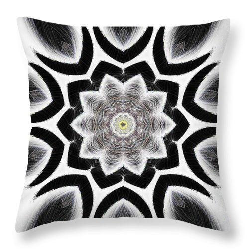 Tall Throw Pillow featuring the digital art Tall Cool One by Michael Damiani