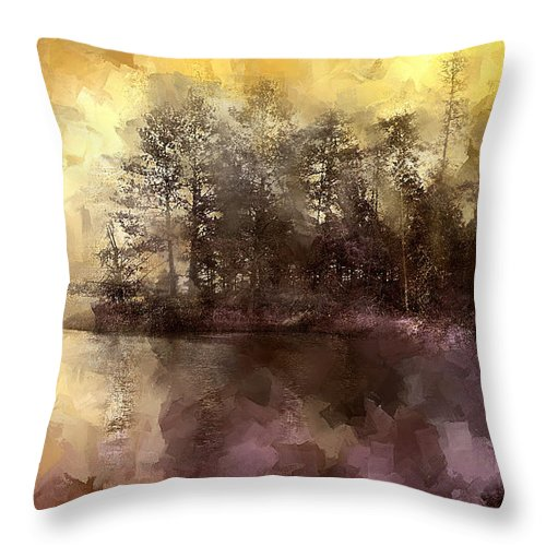 Evie Throw Pillow featuring the photograph Tangerine Raspberry Splash by Evie Carrier