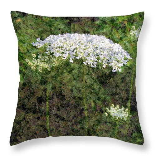 Tapestry Throw Pillow featuring the photograph Tapestry by Priscilla Richardson