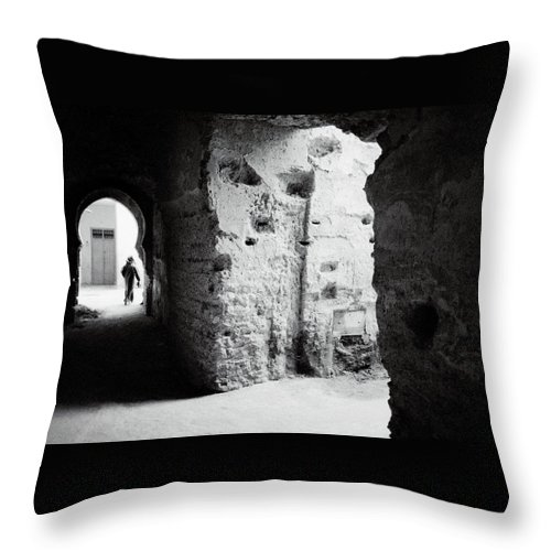 Africa Throw Pillow featuring the photograph Mysterious Labyrinth by Shaun Higson